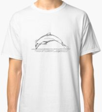 Dolphin Drawing Classic T-Shirt