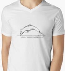 Dolphin Drawing T-Shirt