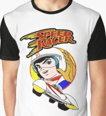 Speed Racer Go Go Go Graphic T-Shirt