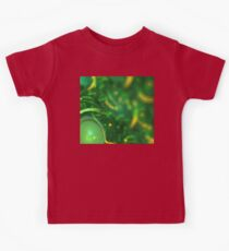 Green Gold Bubbles Kids Tee