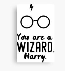 You are a Wizard, Harry. Canvas Print