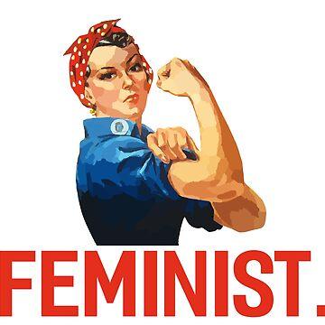 Feminist (classic shirt) by respublica