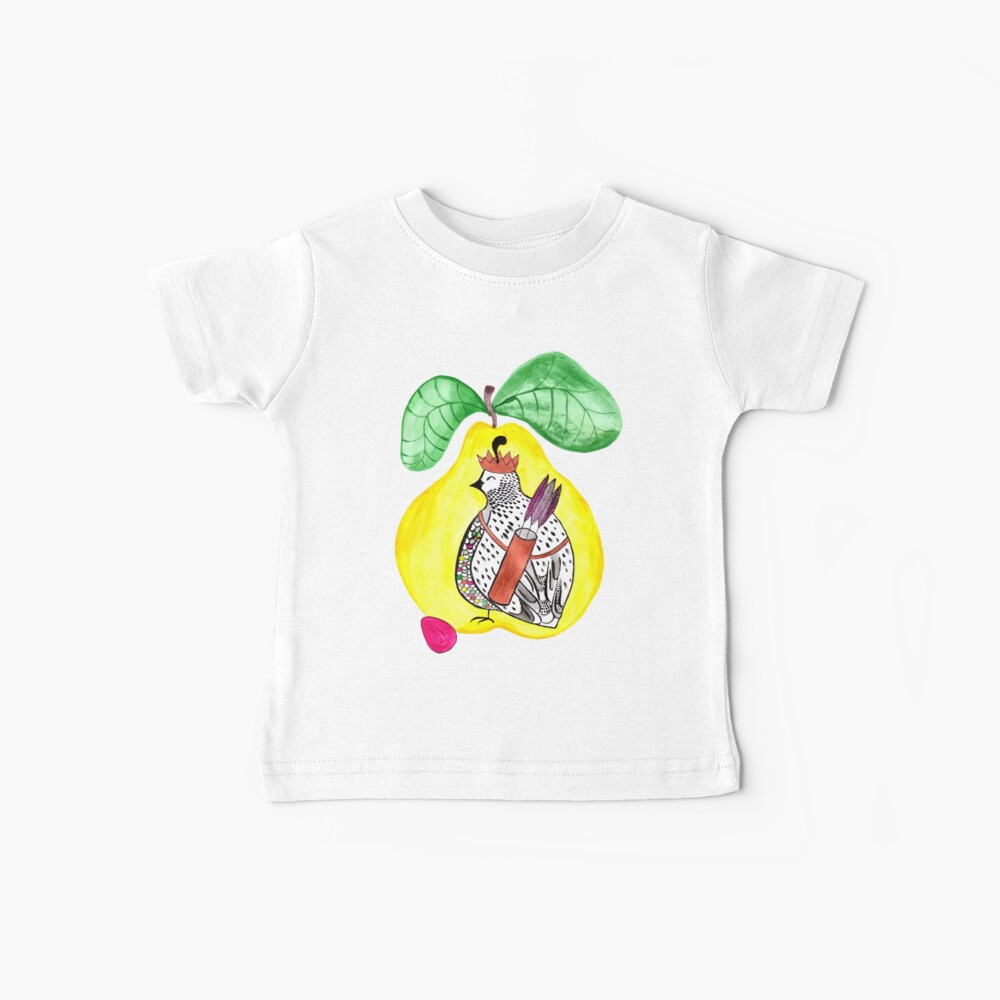 Quail in a Quince Baby T-Shirt