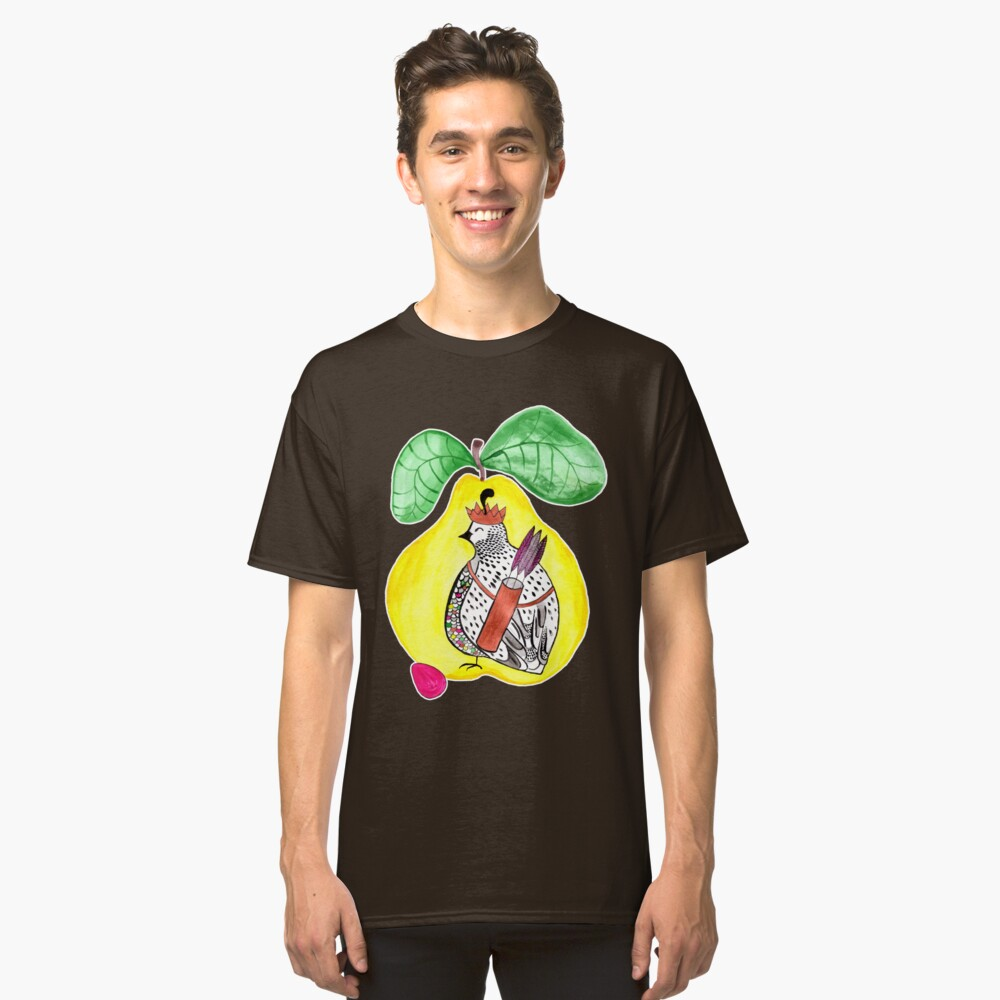 Quail in a Quince Classic T-Shirt