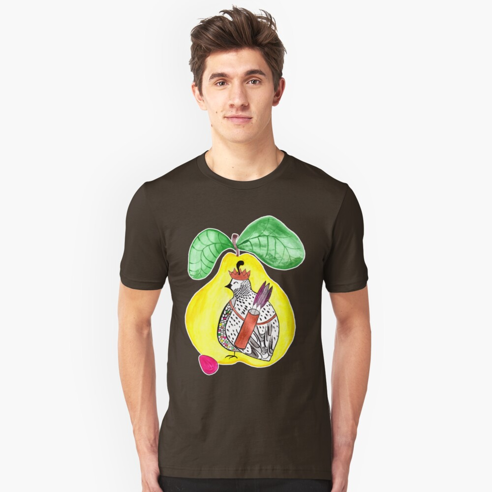 Quail in a Quince Slim Fit T-Shirt