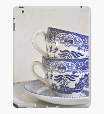 Blue and white stacked china. iPad Case/Skin