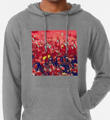 Magical poppy field Lightweight Hoodie