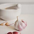 Garlic. by Lyn  Randle