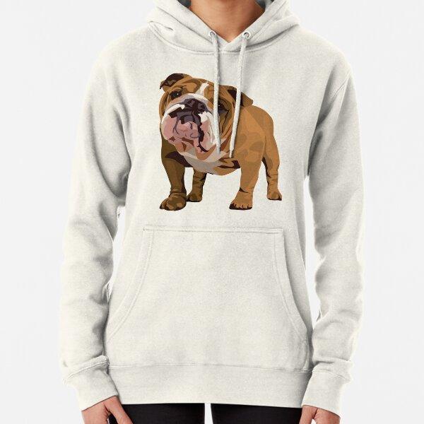 Bulldog Pullover Hoodie