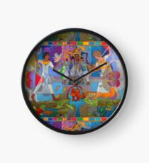 Two of Brotherly Love Clock