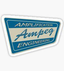 Vintage 60'S Ampeg  Sticker