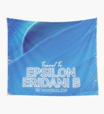 Epsilon Eridani b Sci-fi travel poster Wall Tapestry