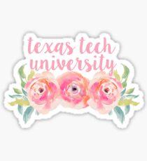 Texas Tech University Sticker
