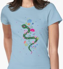 The Serpent  Womens Fitted T-Shirt