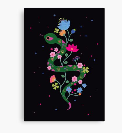 The Serpent  Canvas Print