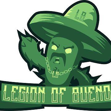 Legion Of Bueno - Mascot by jyles