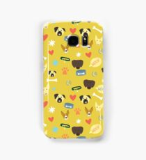All about dogs - dog lovers pattern Samsung Galaxy Case/Skin