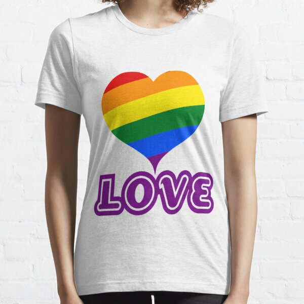 Modern Love - Take Heart and Gay Pride Essential T-Shirt