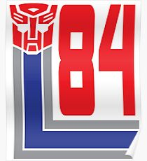 Transformers Autobots 84 Poster