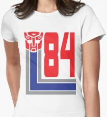 Transformers Autobots 84 Womens Fitted T-Shirt