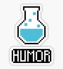 humor potion Sticker