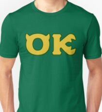 Oozma Kappa - monsters university frat  Unisex T-Shirt
