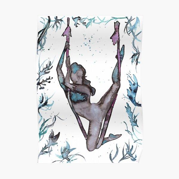 Antigravity Yoga in the jungle Poster