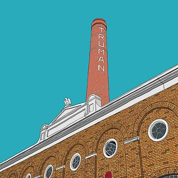 London Brick Lane Truman Chimney by m-lapino
