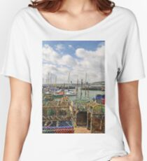 Scarborough Old Harbour Women's Relaxed Fit T-Shirt