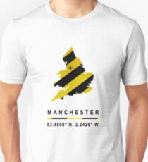 Manchester Bee Map Unisex T-Shirt