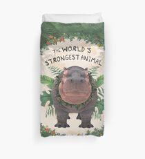 the strongest animal  Duvet Cover