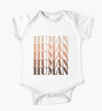 We are all human One Piece - Short Sleeve