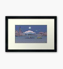 Moebius voyage d'hermes Framed Print