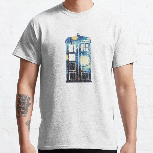 The Doctor's Starry Night Classic T-Shirt