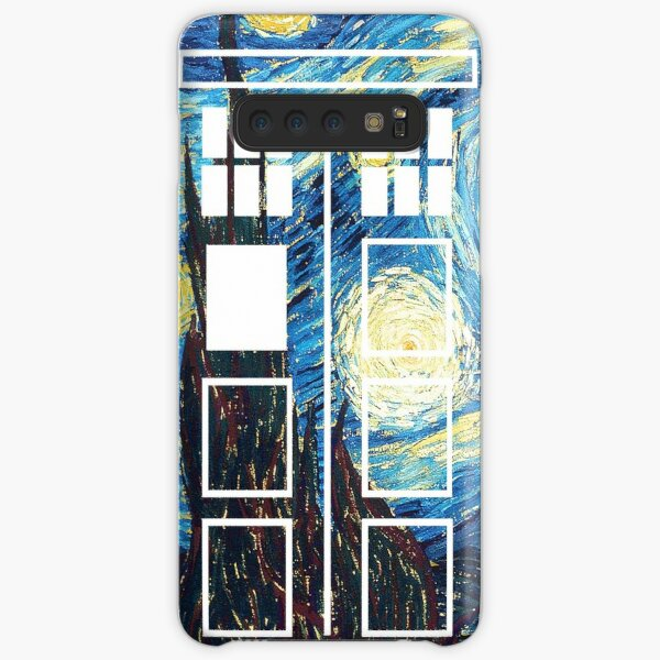 The Doctor's Starry Night Samsung Galaxy Snap Case