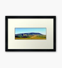 Pendle Hill Framed Print