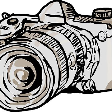 Photographic Camera T-Shirt by CascudoGifts