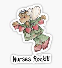Nurses Rock Sticker