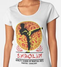 Shaolin Kung Fu School of Martial Arts Women's Premium T-Shirt