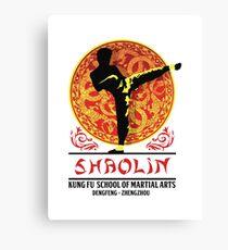 Shaolin Kung Fu School of Martial Arts Canvas Print