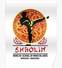 Shaolin Kung Fu School of Martial Arts Poster