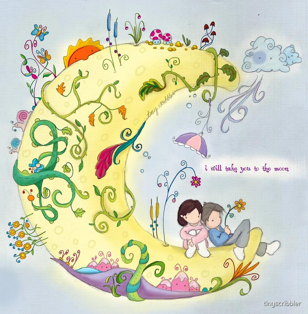 Moon Garden by tinyscribbler