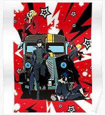 """Persona 5 """"Last Ride"""" Poster"""
