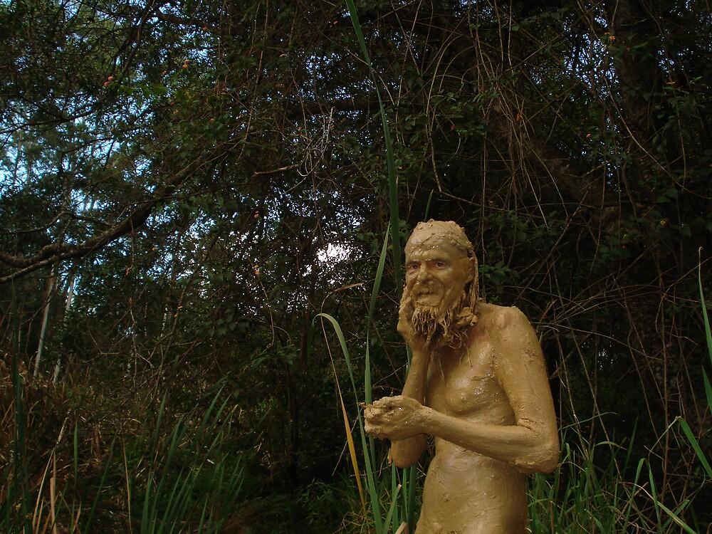 Wild Mud Man by mangodurian