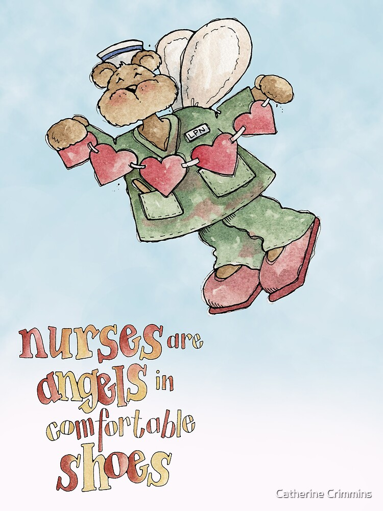 Nurses Are Angels by Catherine Crimmins