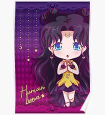 Human Luna Poster