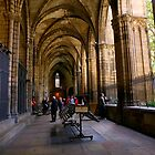 The Gothic cloister by annalisa bianchetti