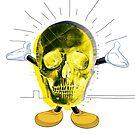Happy skull by soyelzappo