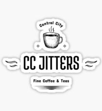 CC Jitters - Fine Coffee & Teas Sticker