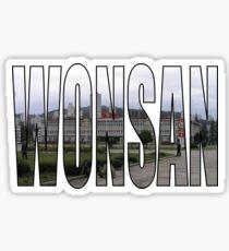 Wonsan Sticker